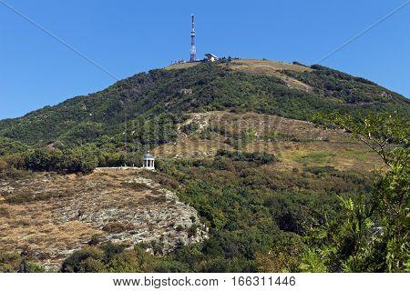 View On Mountain Mashuk of Pyatigorsk city,Northern Caucasus,Russia.