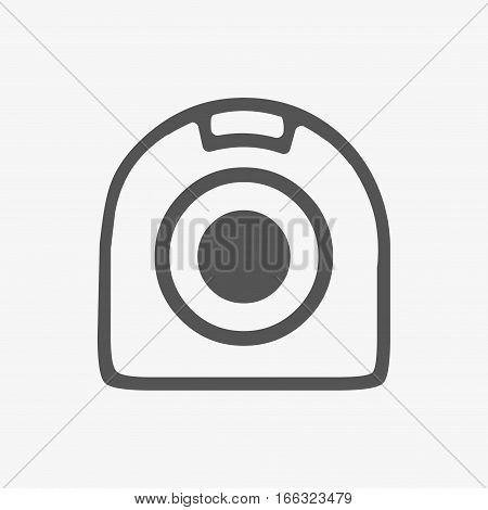 web camera icon stock vector illustration flat design