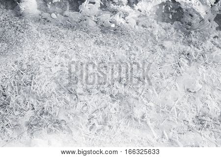 Ice Pattern, Natural Background