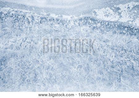 Fresh Thin Ice Pattern, Photo Texture