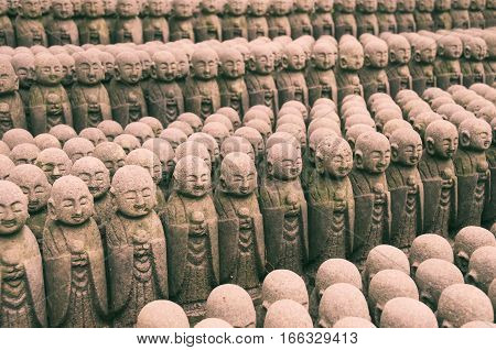 Japanese Jizo Sculptures