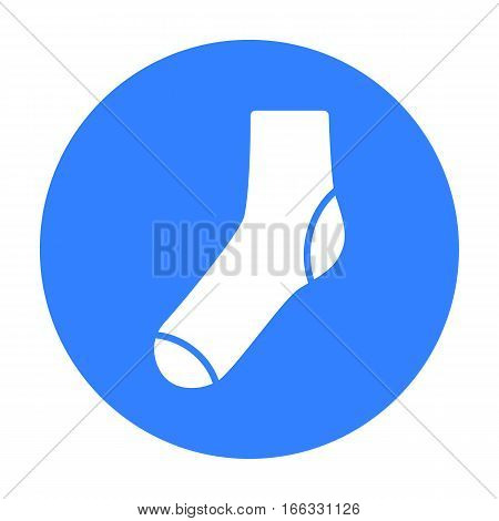 Socks icon of vector illustration for web and mobile design
