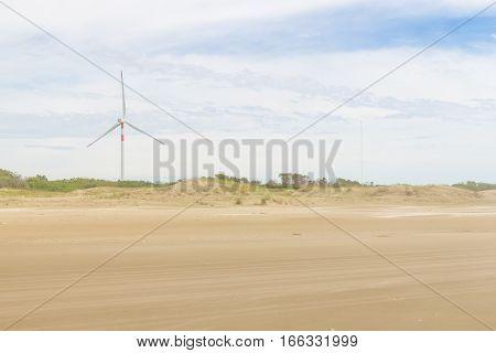 Eolic Park At Cassino Beach