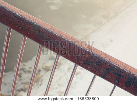 Fence Of A Bridge