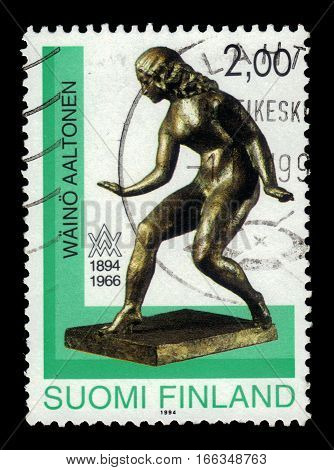 FINLAND - CIRCA 1994: a stamp printed in Finland shows
