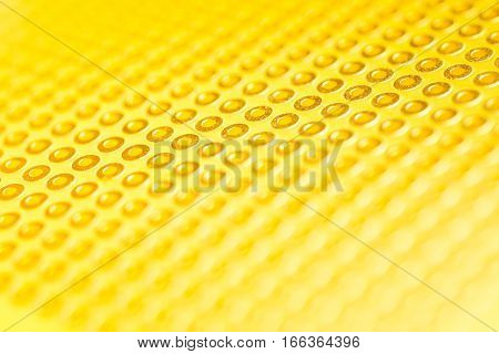 gold Prototype PCB Board abstract background electornic