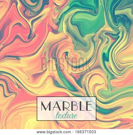 Marbling. Marble texture. Vector abstract colorful background. Paint splash. Colorful fluid. Vector illustration eps10