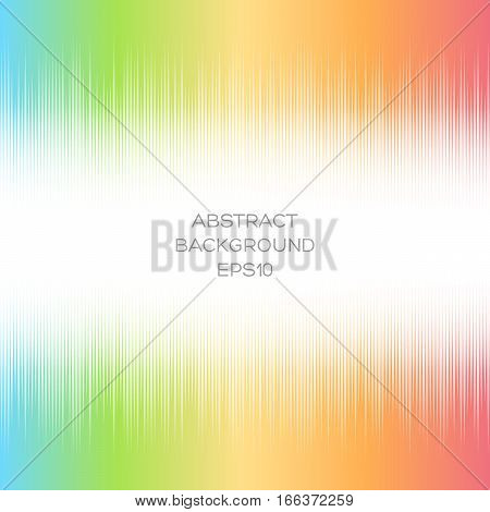 Abstract Pattern With White Geometric Shapes On A Bright Background.