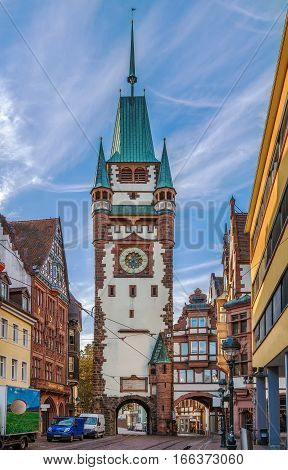 Martinstor (Martin's Gate) is former town fortification and gate in Freiburg im Breisgau that have been preserved since medieval times Germany