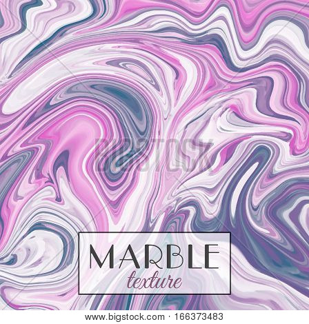 Marbling. Purple Marble texture. Vector abstract colorful background. Paint splash. Colorful fluid. Vector illustration eps10