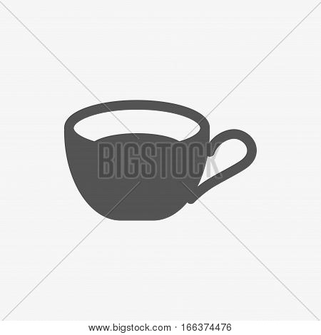 Cup icon stock vector illustration flat design