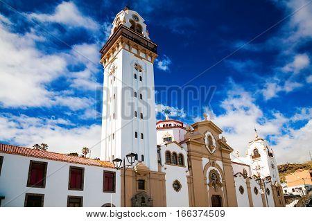 Basilica de Candelaria church in Tenerife Canary Islands Spain