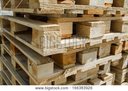 wood pallets is a flat transport structure that supports goods in a stable fashion while being lifted by a forklift, pallet jack, front loader, work saver, or other jacking device, or a crane.