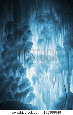Huge Ice Icicles