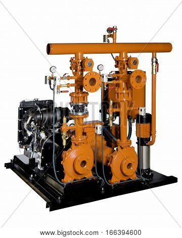 pressure fire equipment combustion engine and electric