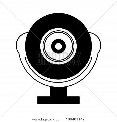 web cam gadget isolated icon vector illustration design