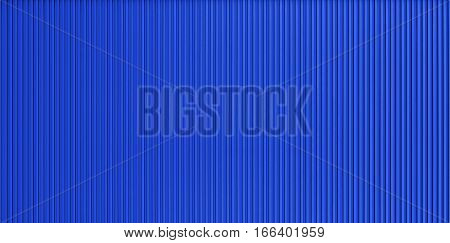 Blue corrugated metal wall texture, texture backgrounds