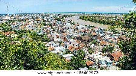 Panorama Of The City From The Height, Vietnam