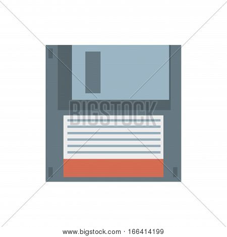 floppy diskette storage computer vector illustration eps 10