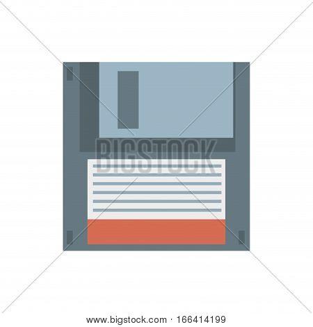 floppy diskette storage computer vector illustration eps 10