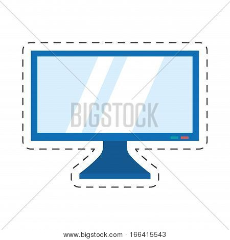 screen computer display equipment vector illustration eps 10