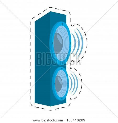 speaker audio sound volume vector illustration eps 10