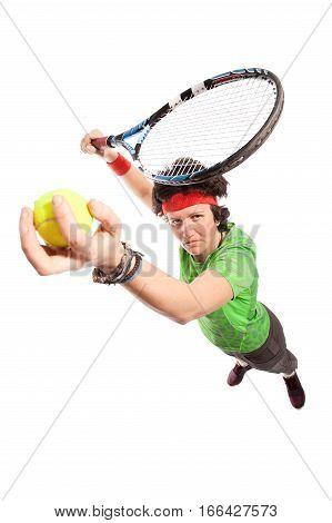 Tennis Player Portrait