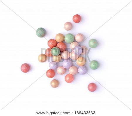 Multicoloured Corrector Face Powder Balls