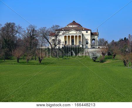 Villa Designed By Palladio Called Villa Capra Detta La Rotonda I