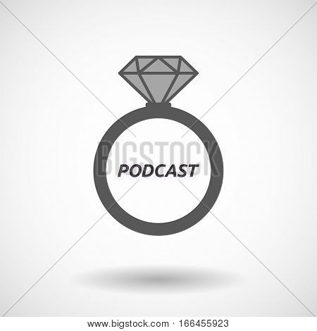 Isolated Ring With    The Text Podcast