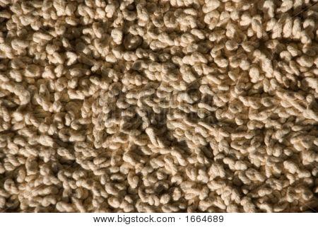 Closeup Of Twisty Wool Carpet