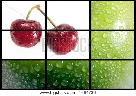 Cherrys And Apple