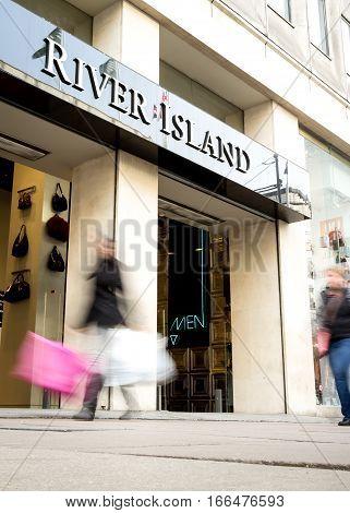 River Island Store, Oxford Street, London