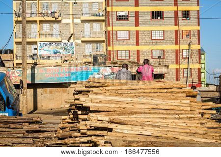 Simplicity Of African Timber Business.