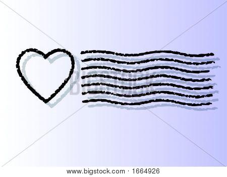Heart Cancel Post