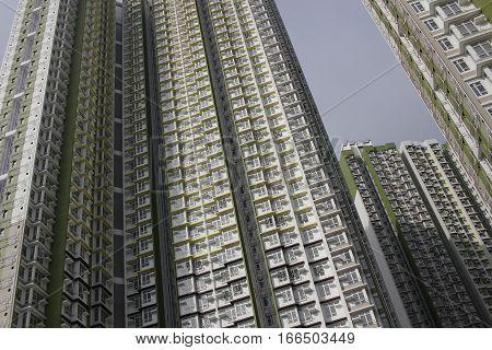 Residential Building In Hong Kong 2016