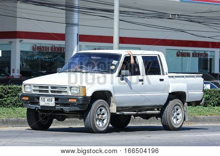 Private Old Pickup Car, Toyota Hilux.