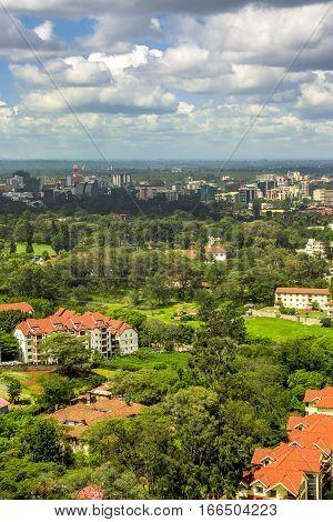 Nairobi Downtown - Capital City Of Kenya