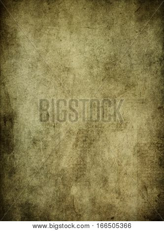 Aged paper texture or background for the design. Grunge style.