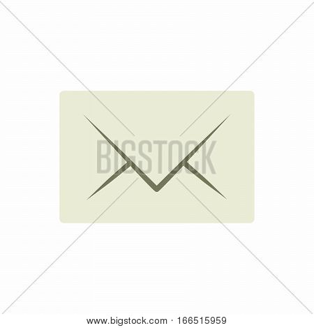 Post office letter signs. Mail envelope icons. Message document symbols. Vector design
