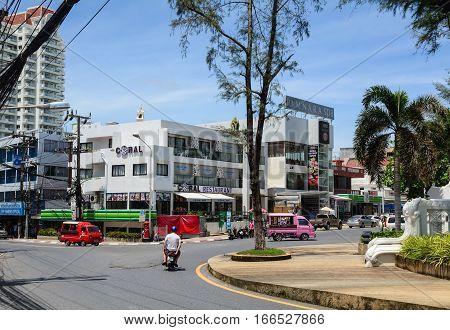 Street In Phuket, Thailand