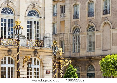 Buildings On The Stanislas Place In Nancy The Golden City
