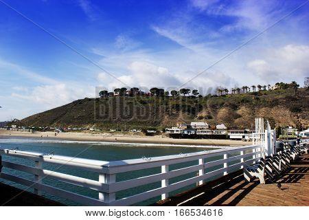 Malibu Lagoon State Beach in Malibu California