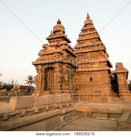 The Shore Temple, .mahabalipuram, Tamil Nadu, India