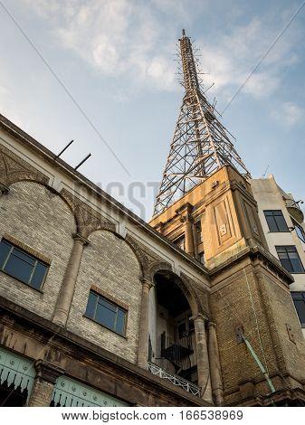 Alexandra Palace Tv Transmitter Tower, London