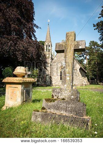 Old English Grave Yard