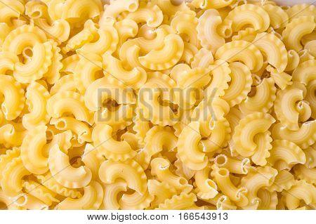 Creste Di Gallo Pasta Close Up