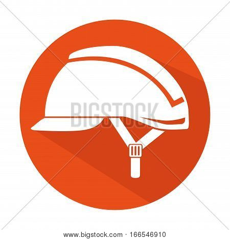 security industrial helmet icon vector illustration design