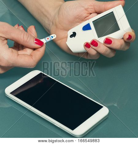 Personal Blood Glucose Meter