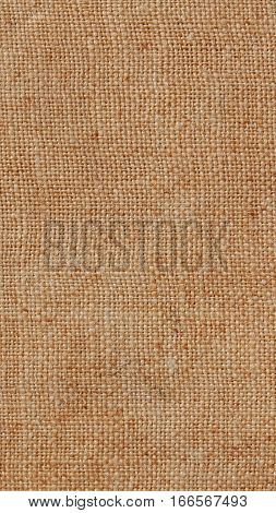Brown Burlap Background - Vertical